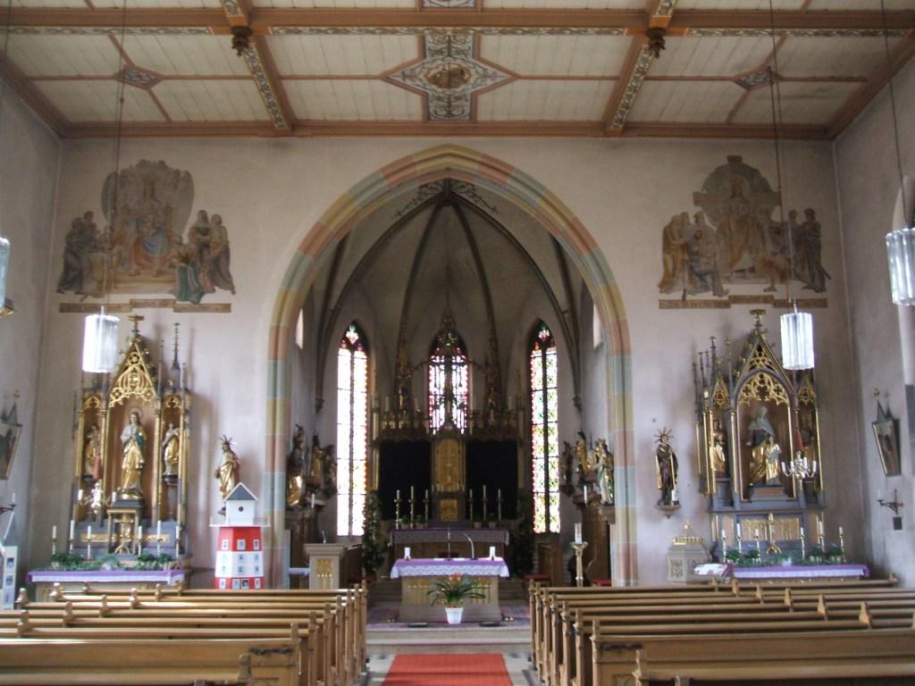 Kirchbau.de Datenblatt einzelne Kirche